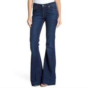 NWT 10 Crosby Derek Lam  Noha Flare Leg Jeans